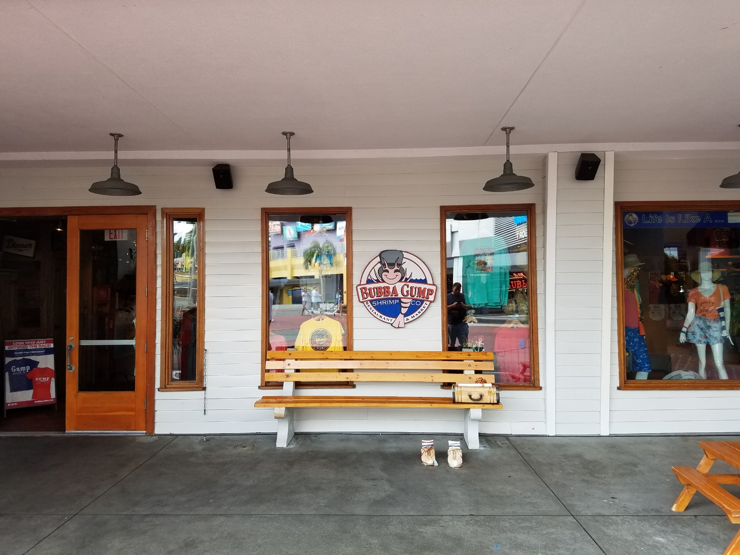 Bubba Gump Photo Op