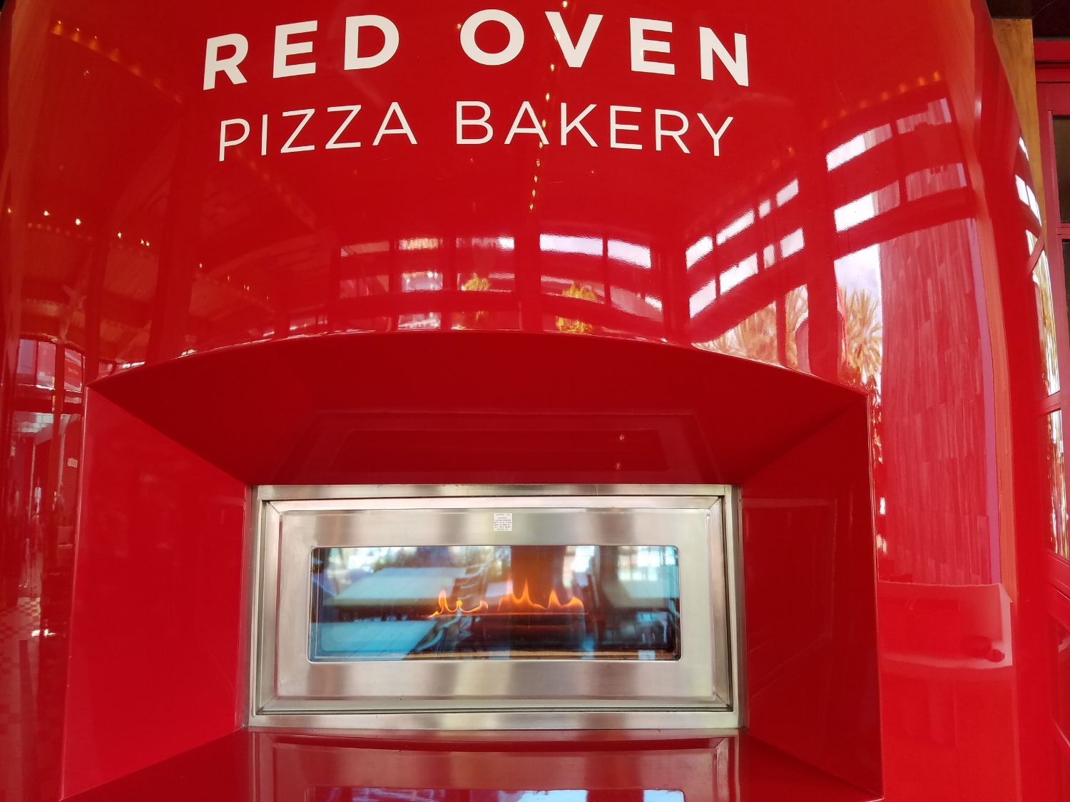 Oven at Red Oven Pizza Bakery