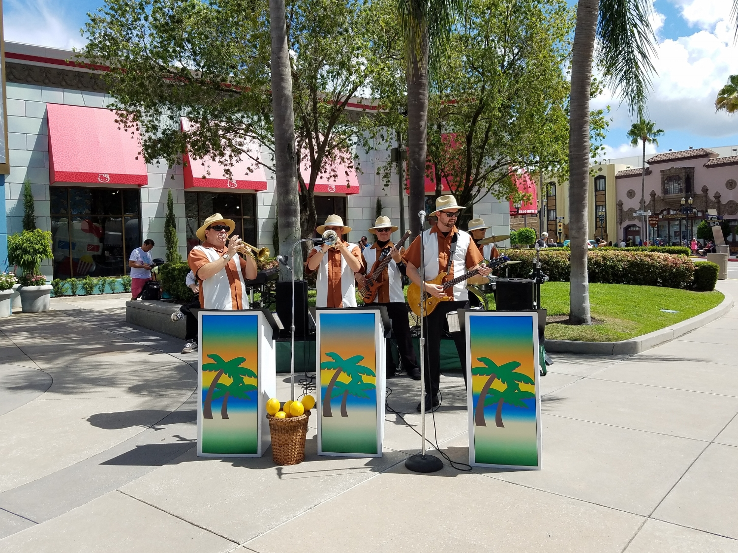 There are many different musical street shows that take place on the streets of Universal Studios Florida.