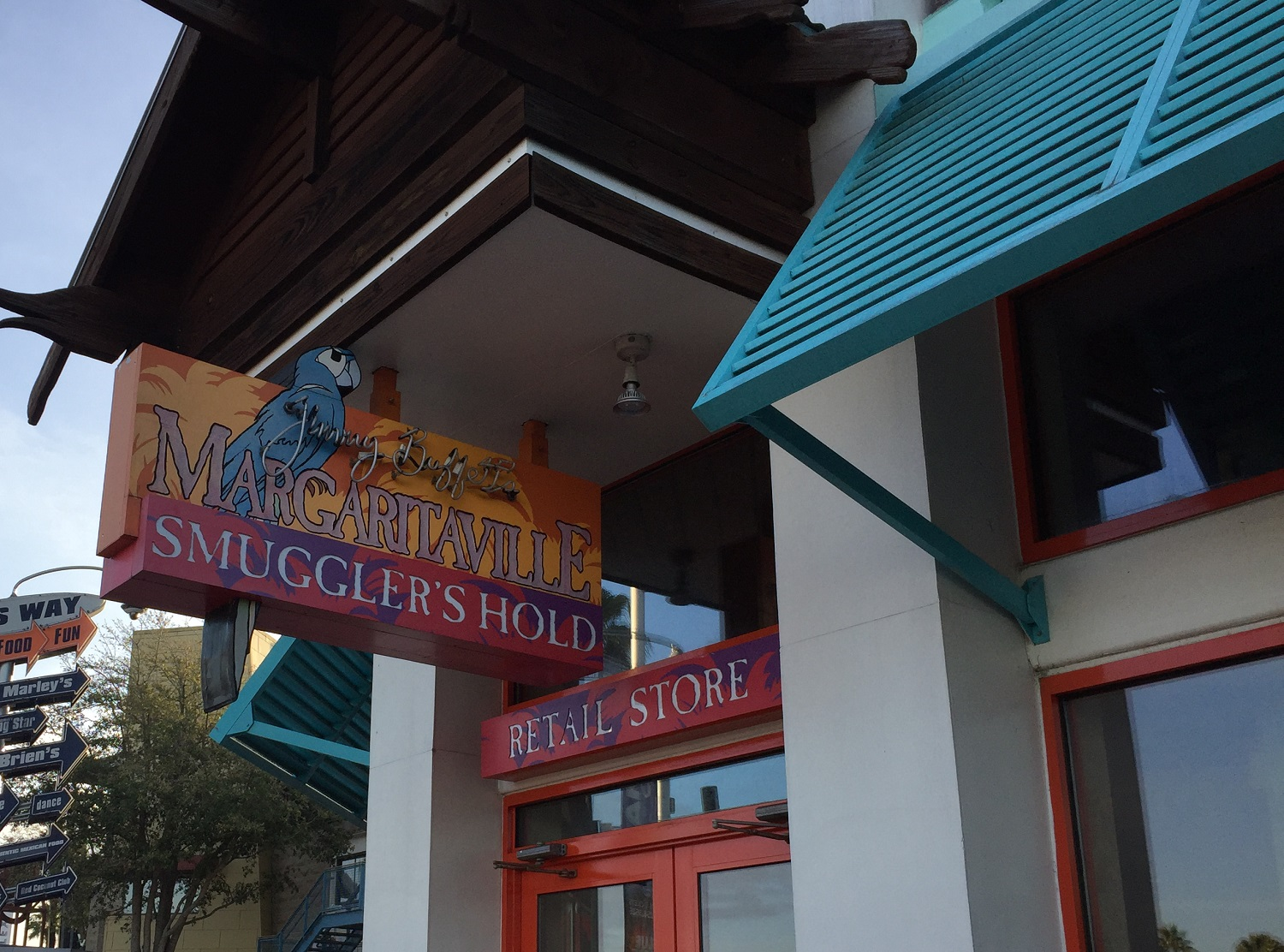 Smuggler's Hold Entrance at Jimmy Buffet Margaritaville
