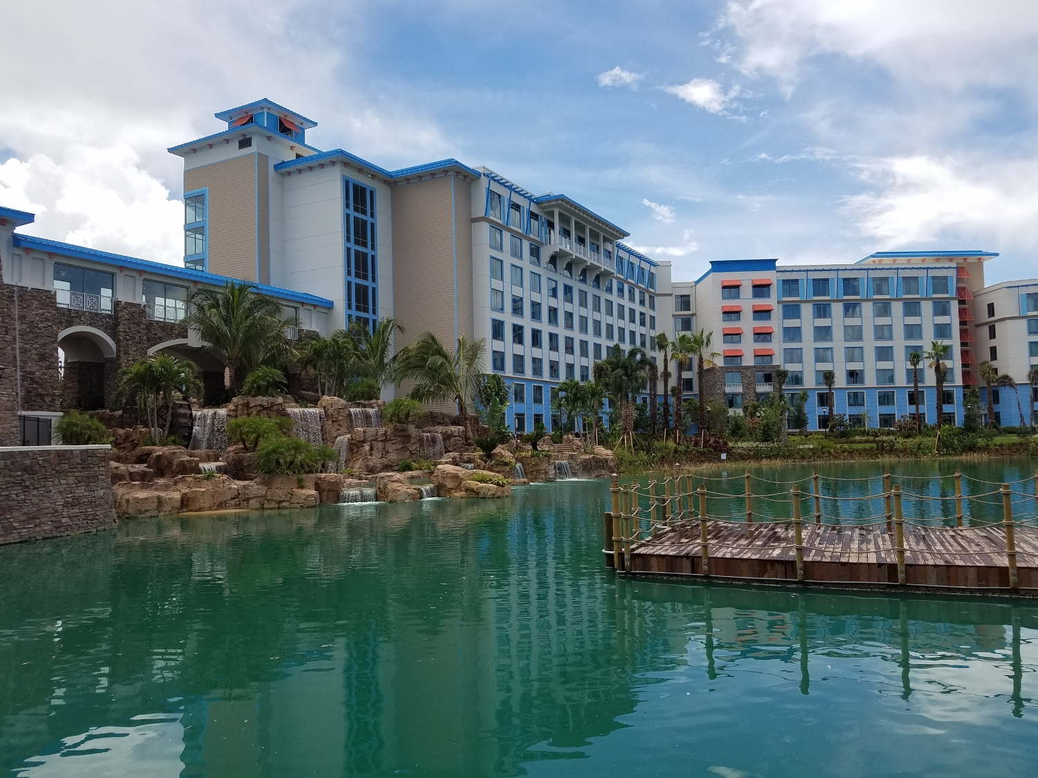 View of Loews Sapphire Falls Resort From the Water Taxi Dock