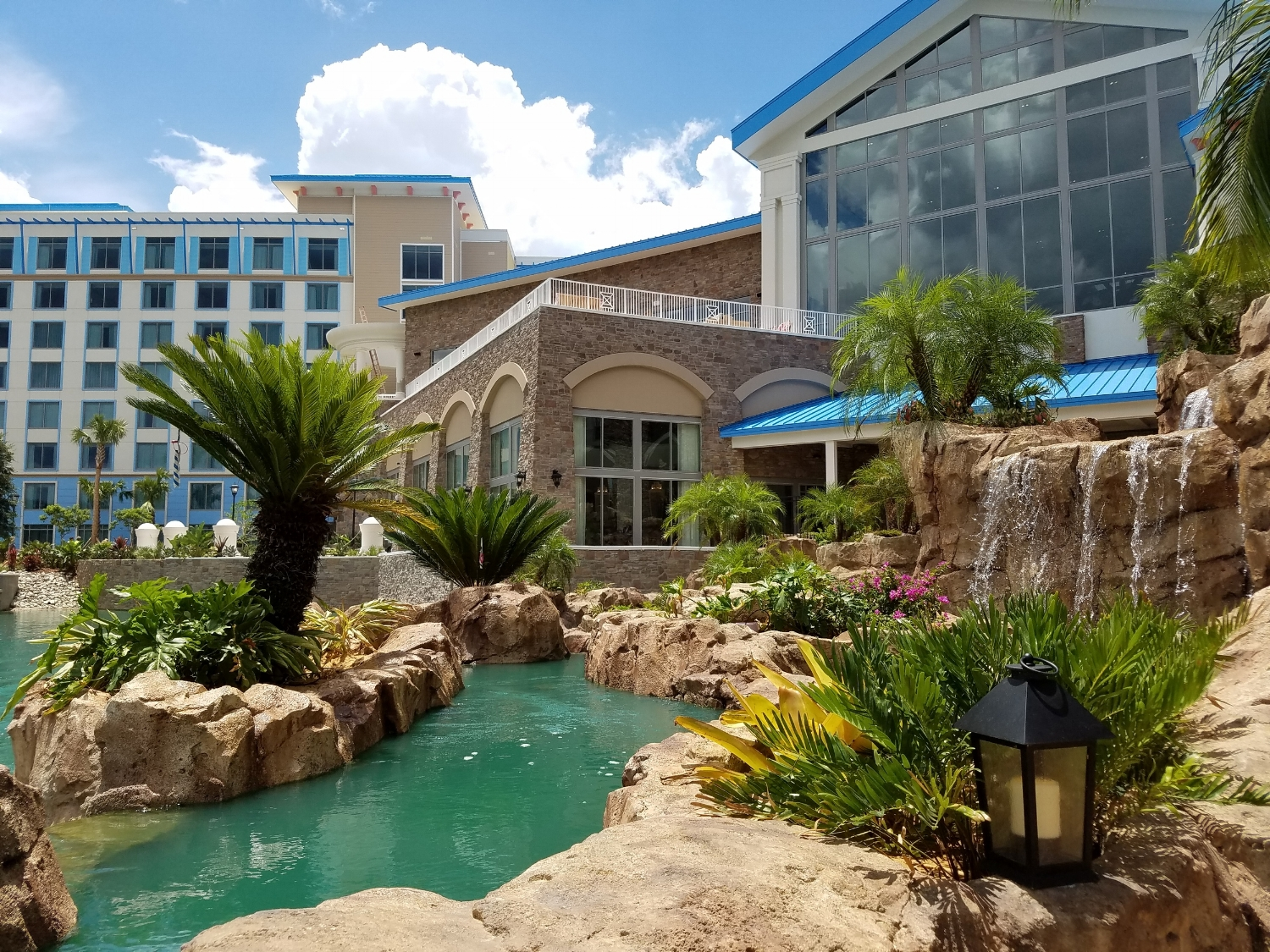 Surrounded by Waterfalls at Loews Sapphire Falls Resort
