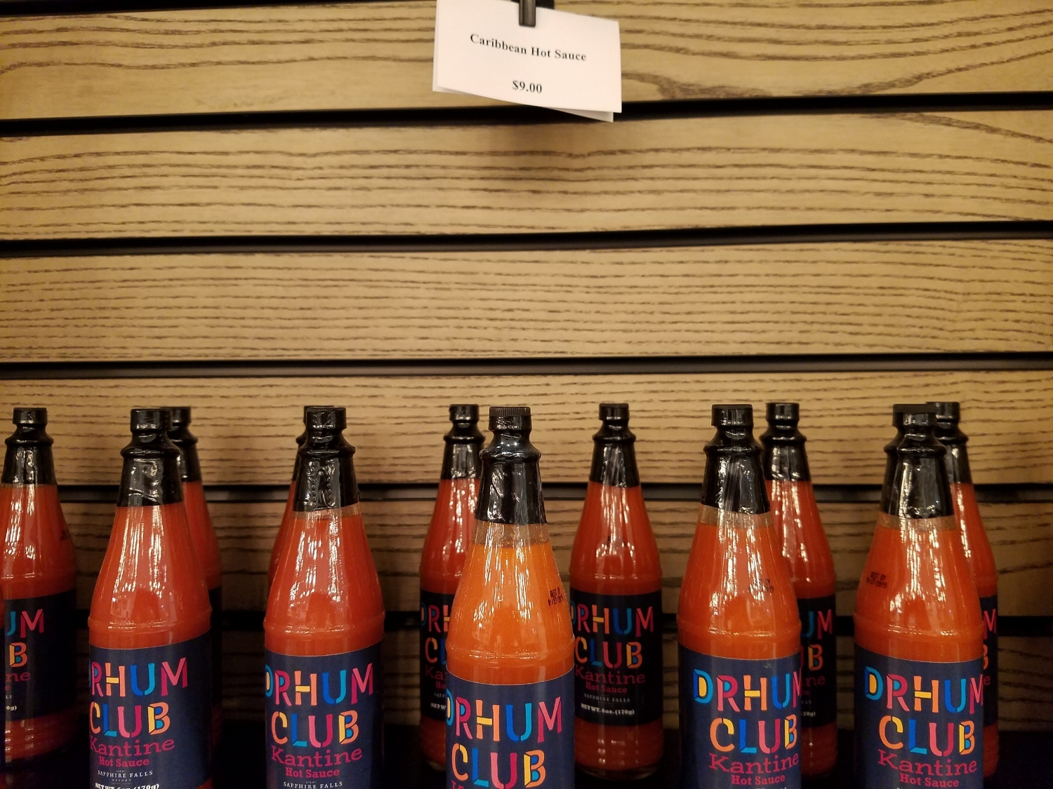 Take Home Some Drhum Club Kantine Hot Sauce From New Dutch Trading Co.