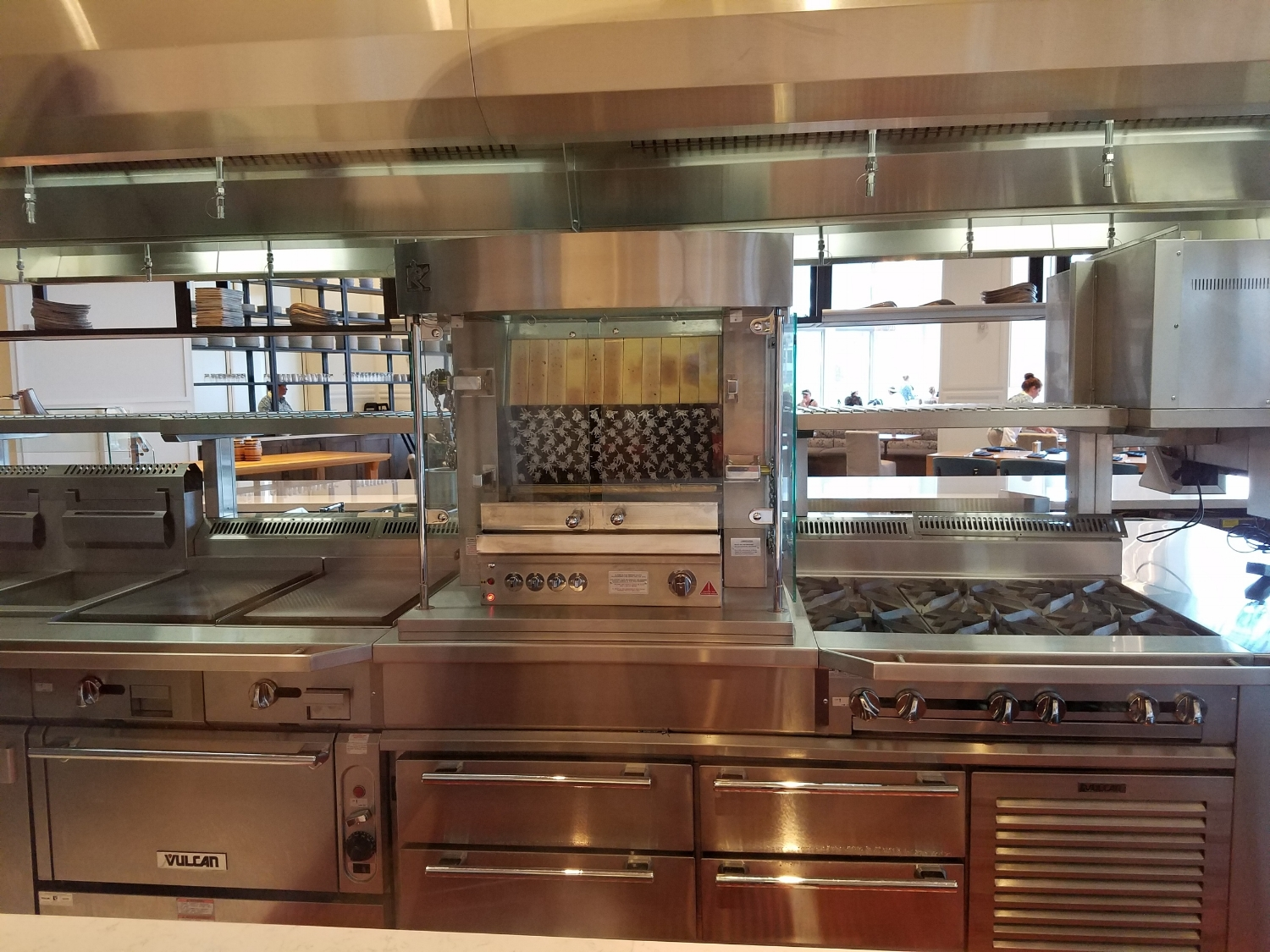 View of the Kitchen in Amatista Cookhouse