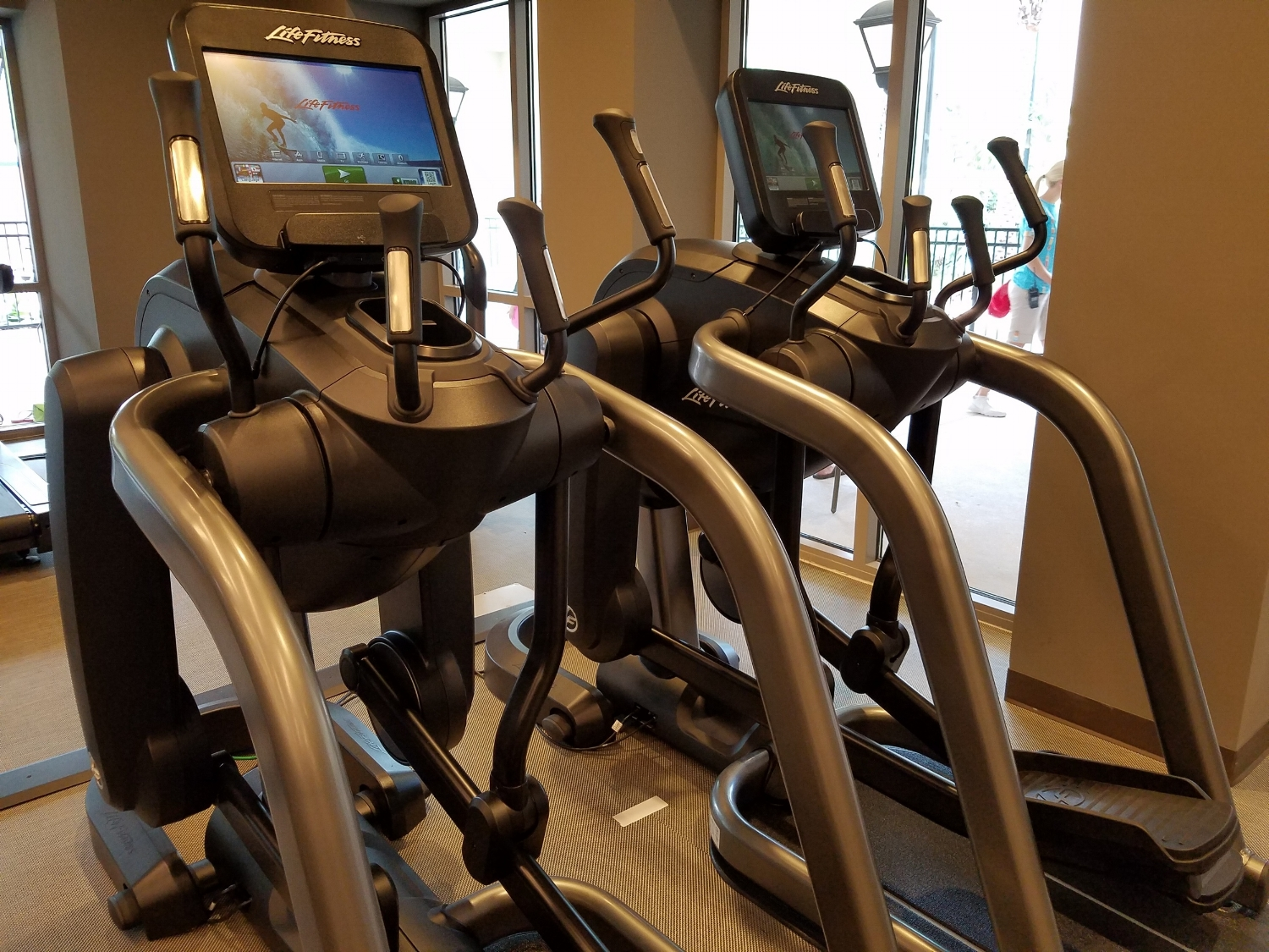 Fitness Stations all Around Kalina Health and Fitness room