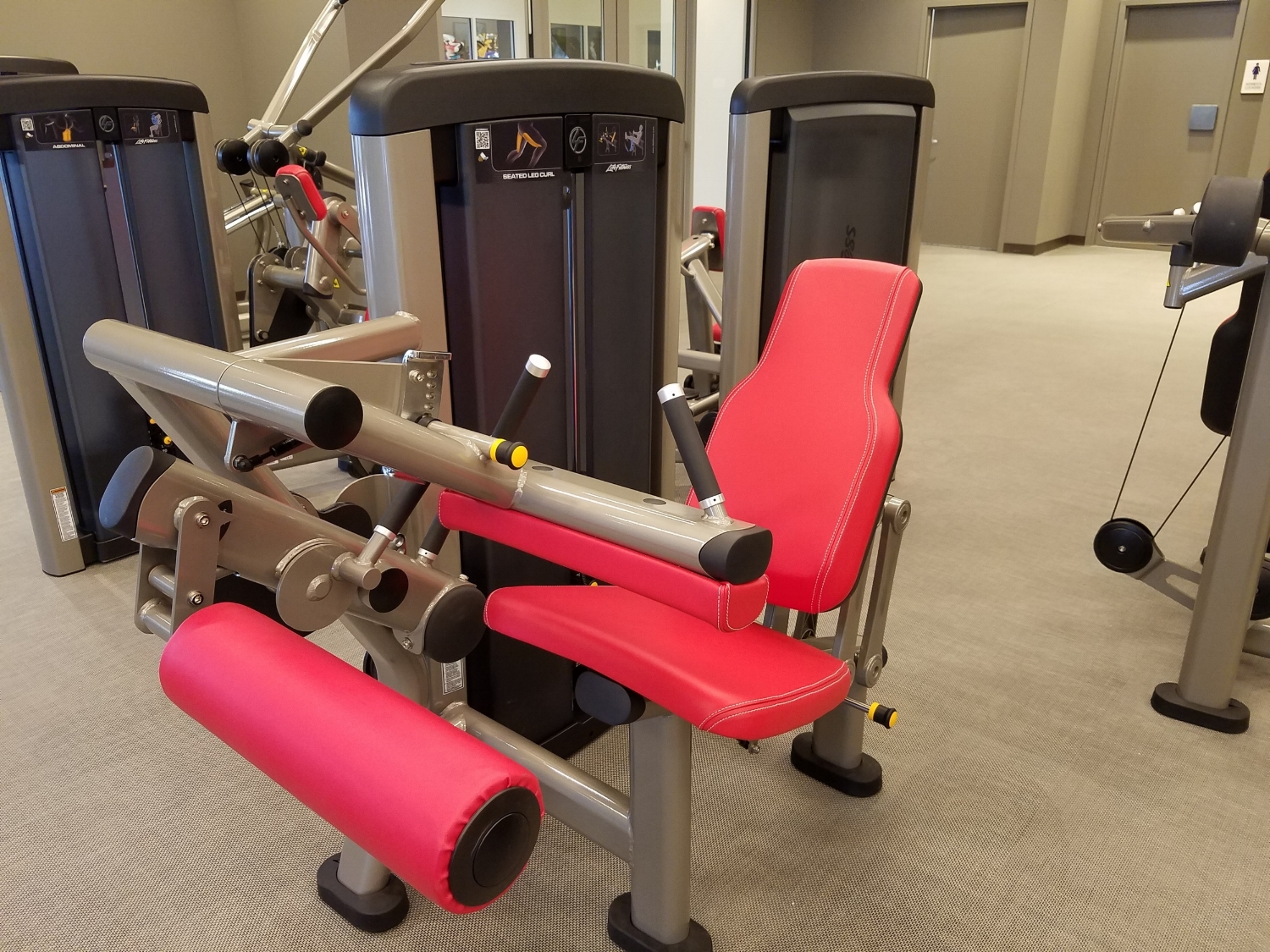 Workout Equipment in Kalina Health and Fitness Room
