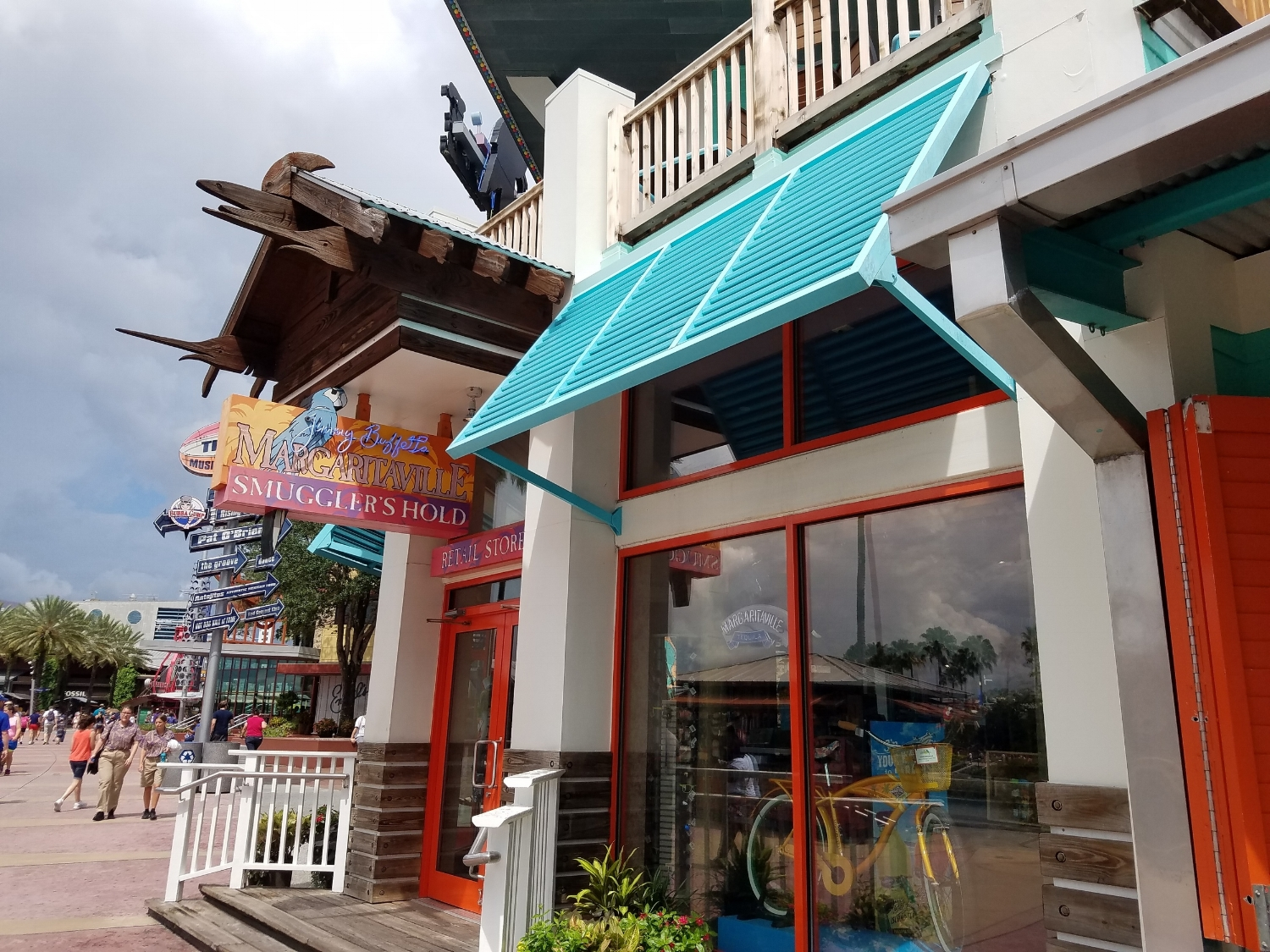 Retail Shop Entrance at Jimmy Buffet Margaritaville