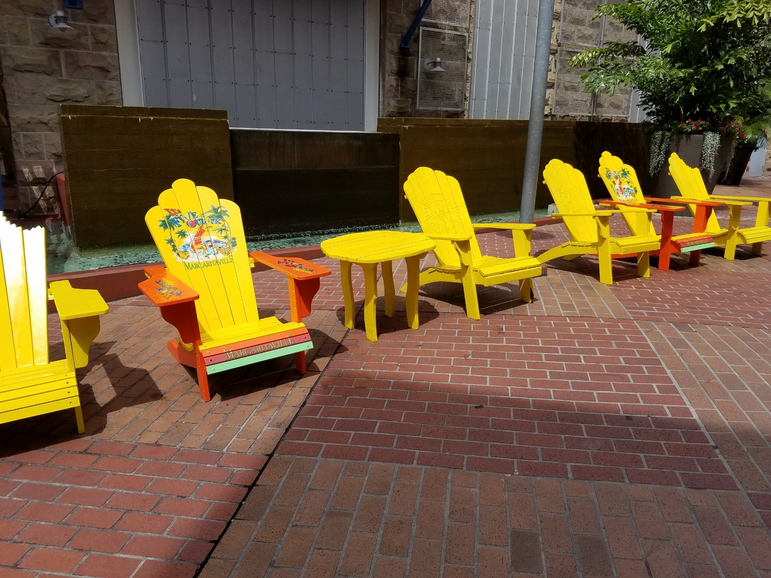 Deck Chairs Near Jimmy Buffet Margaritaville