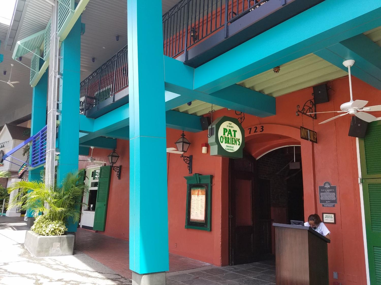Entrance to Pat O'Brien's