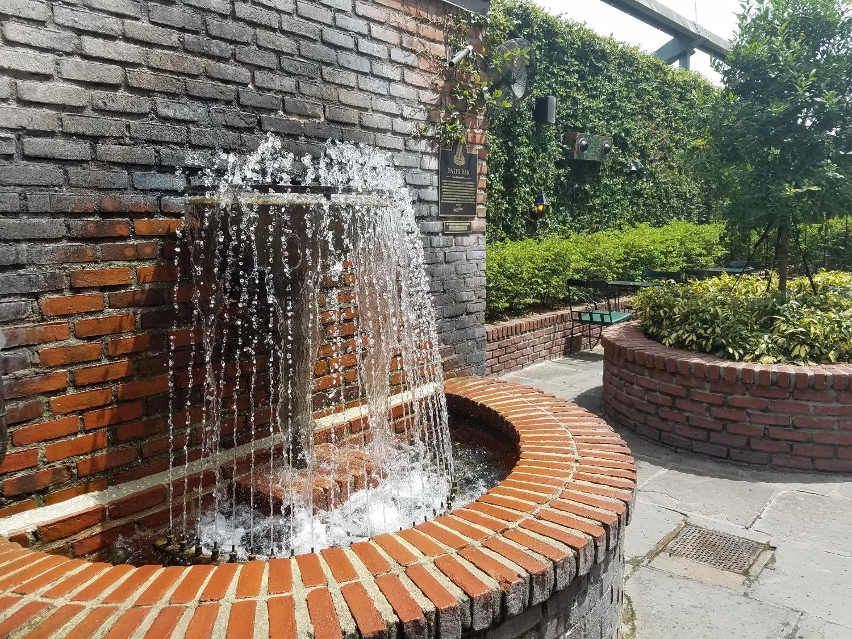 Wall Fountain at Pat O'Brien's