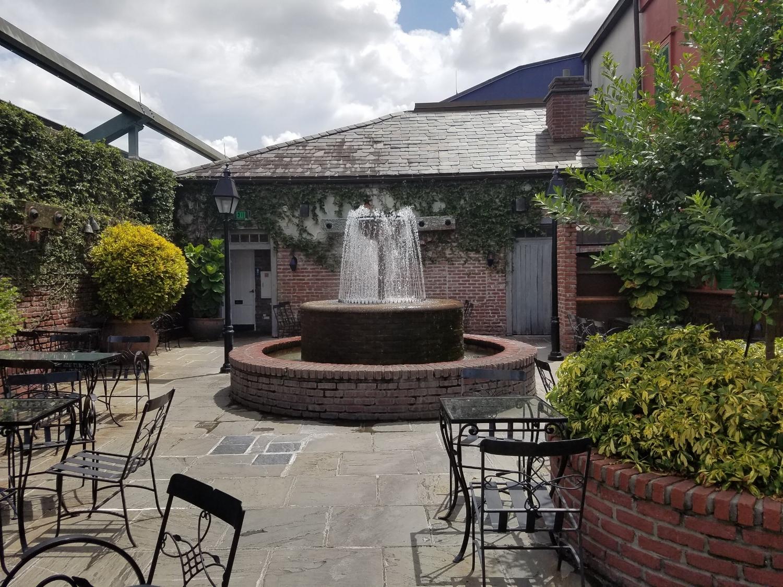 Water Fountain at Pat O'Brien's