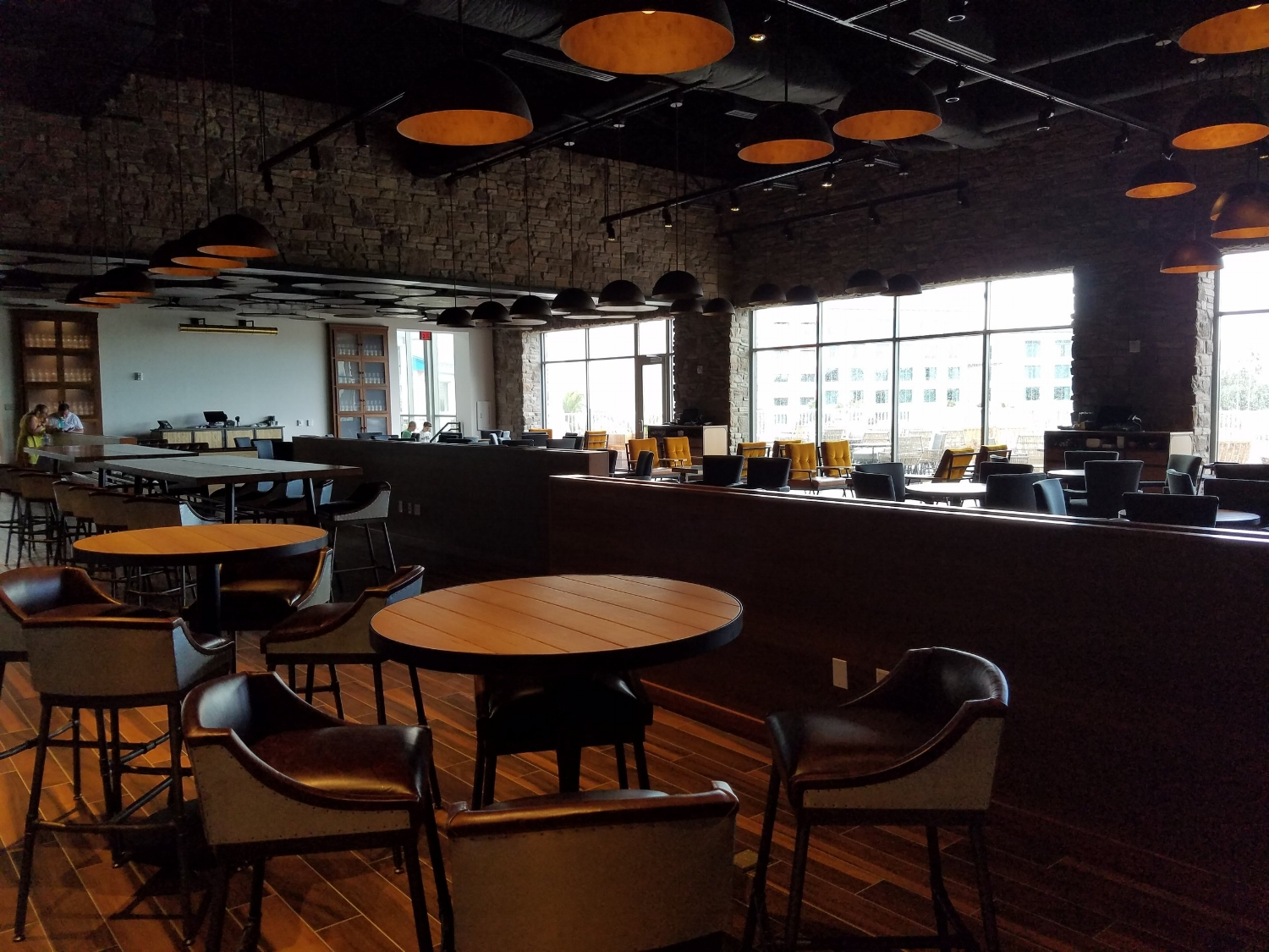 Indoor Dining Area at Strong Water Tavern