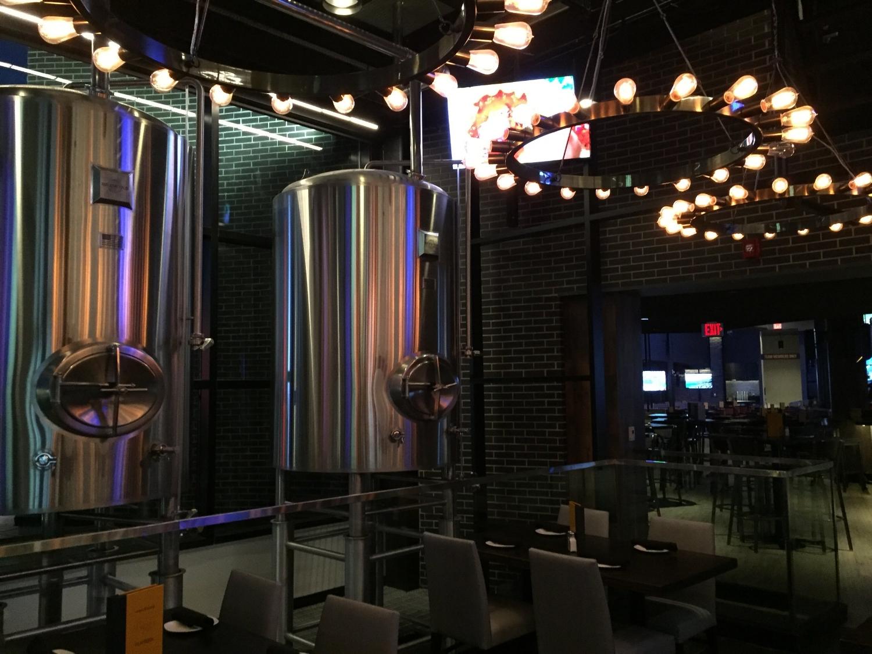 Brewing Equipment at NBC Sports Grill & Brew