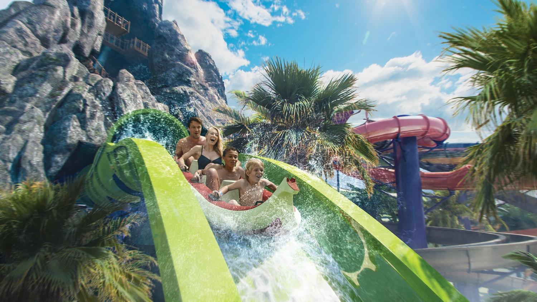 Krakatau Aqua Coaster at Volcano Bay. Image credit: Universal Orlando Resort.