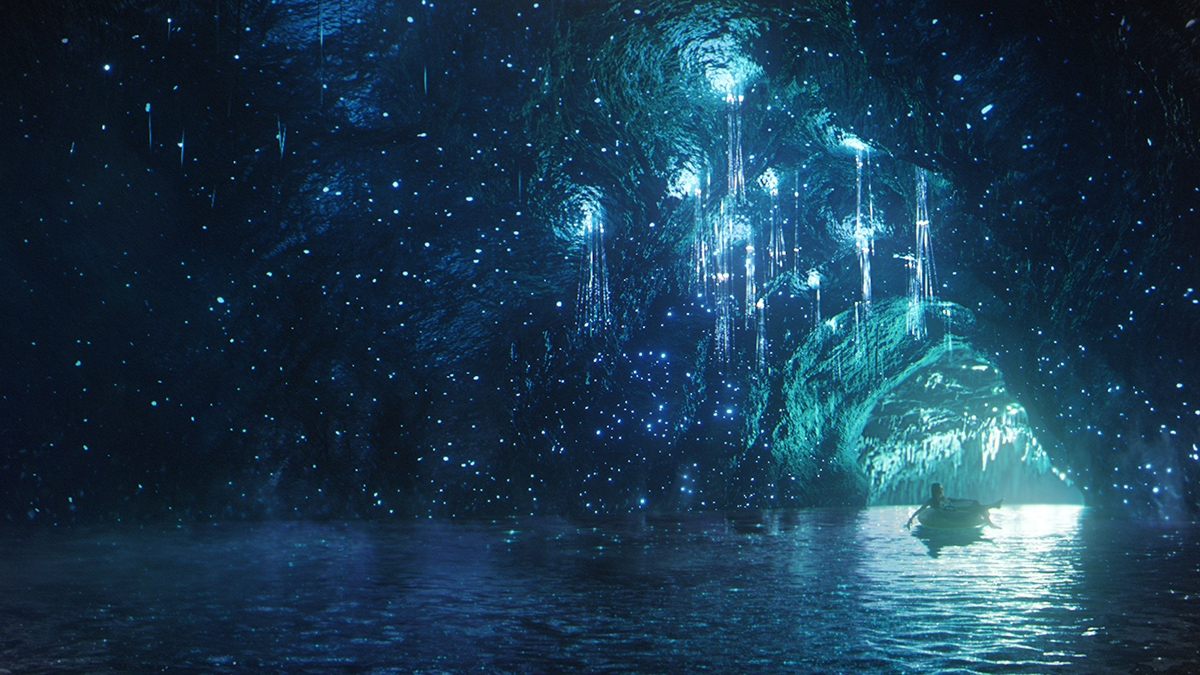 Stargazer's Cavern  at Volcano Bay.  Image credit: Universal Orlando Resort.