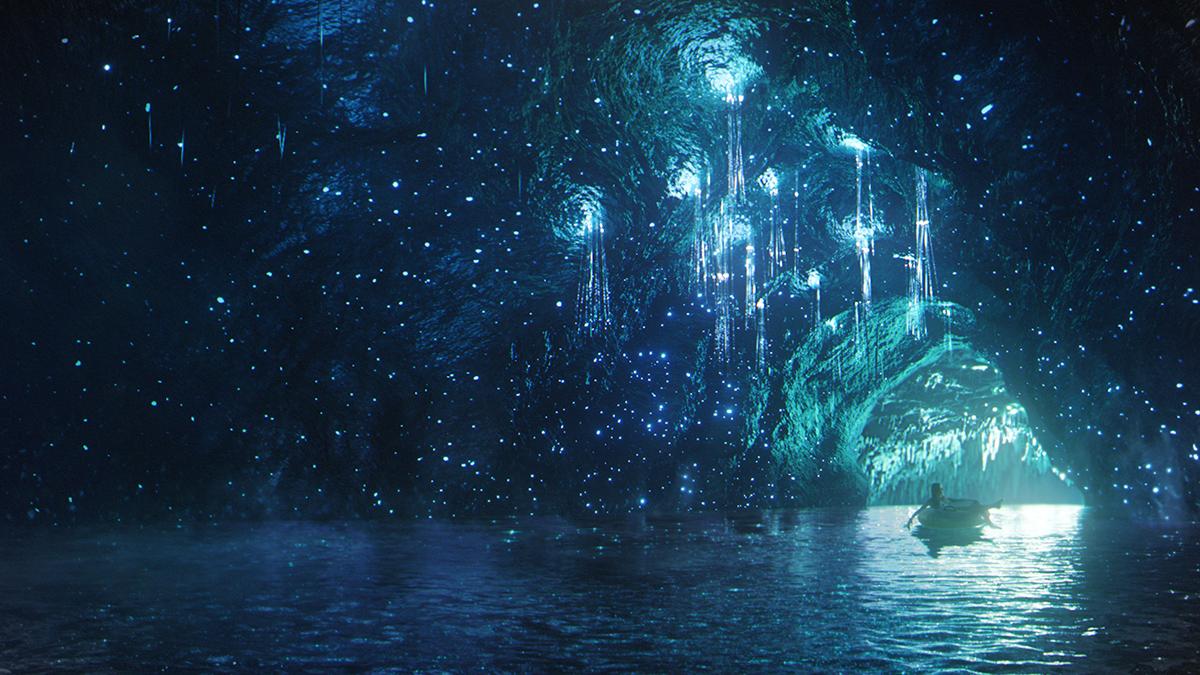 Stargazer's Cavern in Volcano Bay