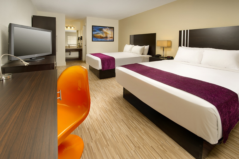 Standard double queen room at Avanti Resort. Image credit: Avanti Resort.