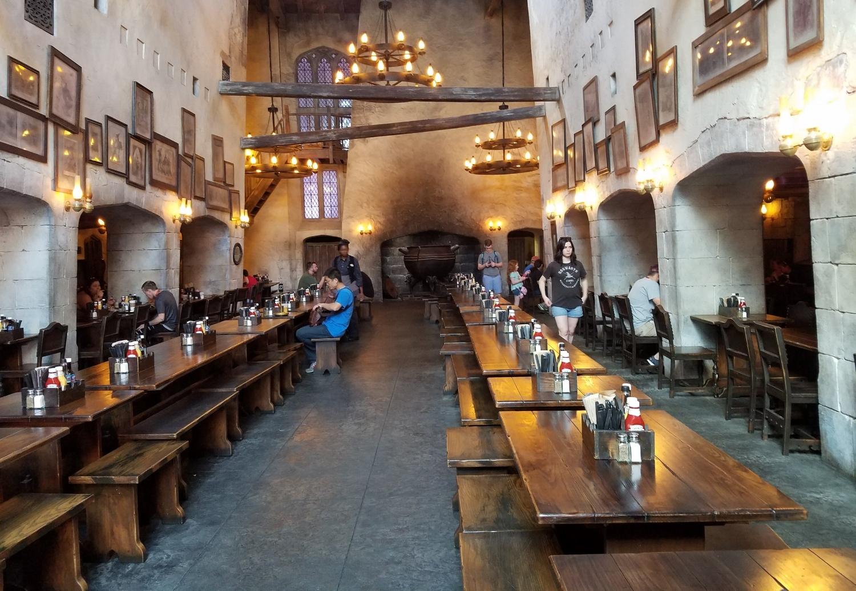 Leaky Cauldron Dining Hall