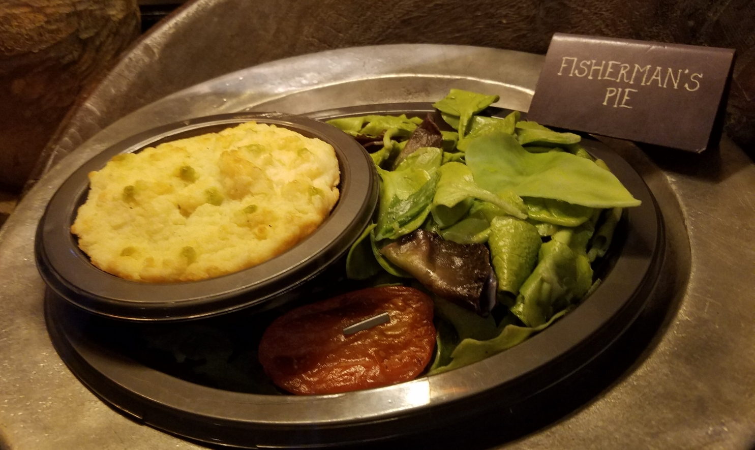 Fisherman's Pie at Leaky Cauldron