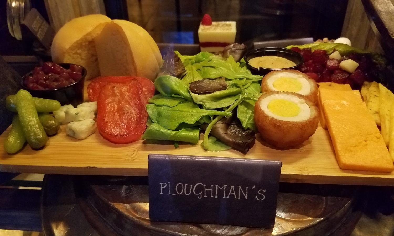 Ploughman's Platter at Leaky Cauldron