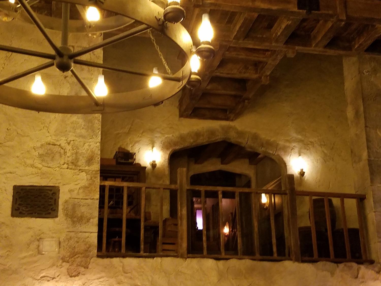 Balcony at Leaky Cauldron