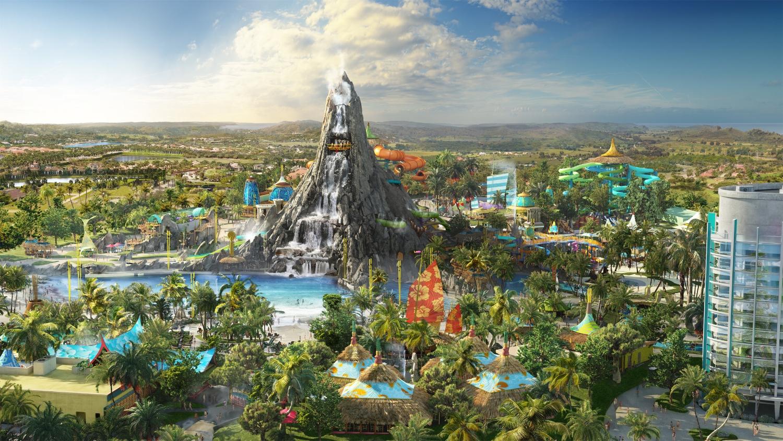 Universal's Volcano Bay Water Theme Park. Image credit: Universal Orlando Resort.