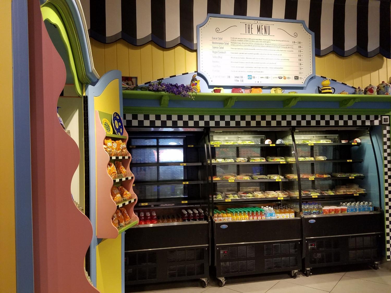 Lisa's Teahouse of Horror in Universal Studios Florida.