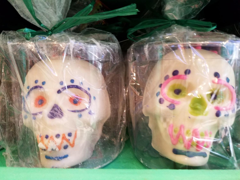 White Chocolate Skulls from Honeydukes
