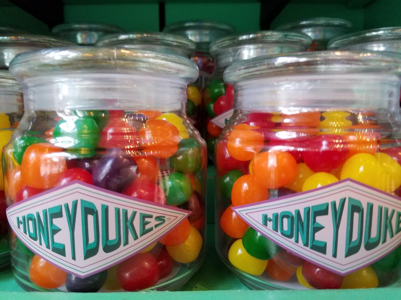 Assorted Fruit Balls from Honeydukes