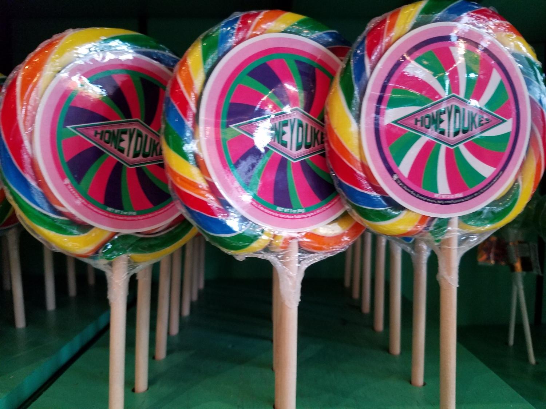 Rainbow Lollipop from Honeydukes