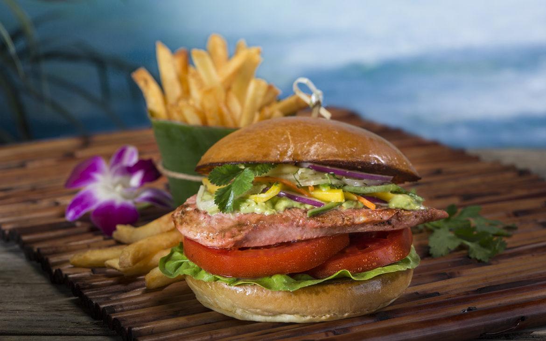 Kohola Chicken Sandwich. Image credit: Universal Orlando Resort.