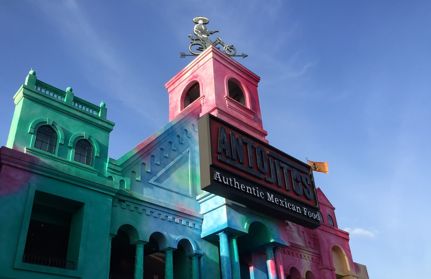 Antojitos Authentic Mexican Food restaurant in Universal CityWalk Orlando.