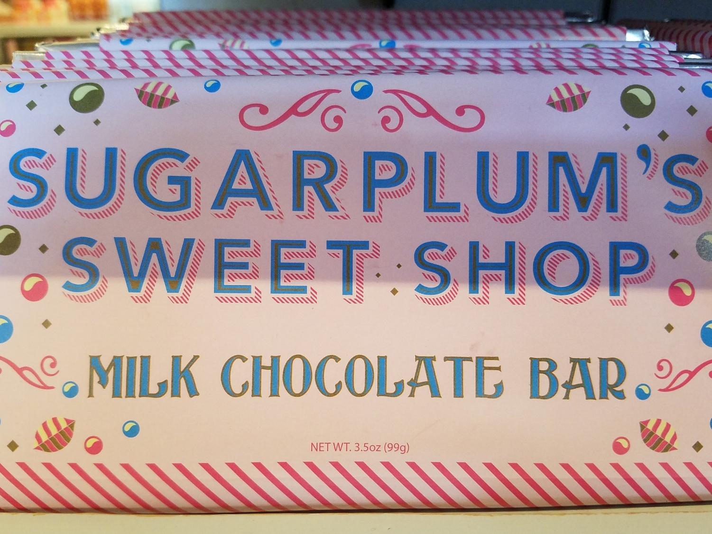 Sugarplum's Chocolate Bar at Sugarplum's Sweet Shop.