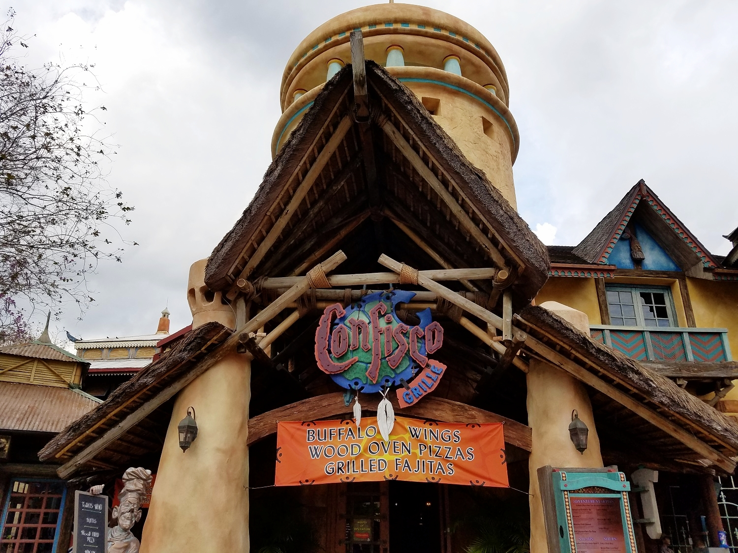 Confisco Grille in Universal's Islands of Adventure