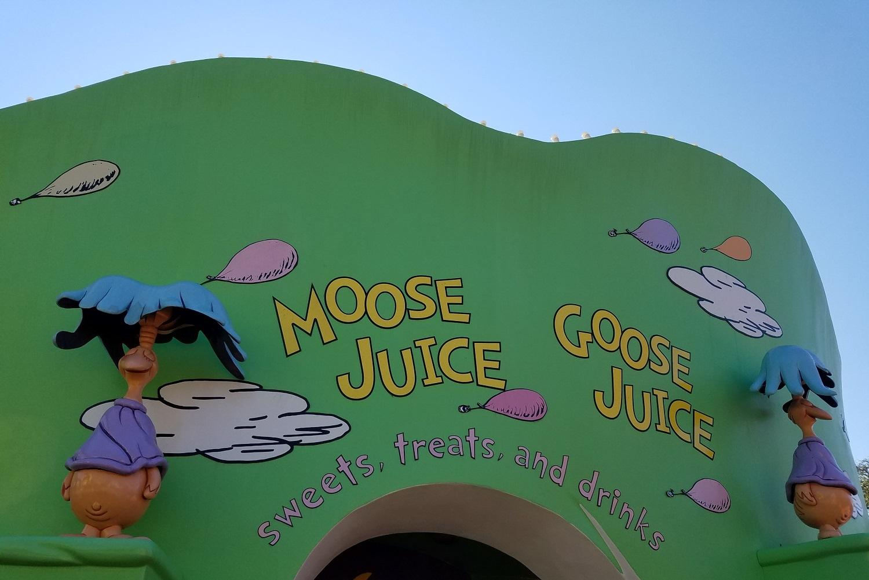 Moose Juice Goose Juice in Universal's Islands of Adventure