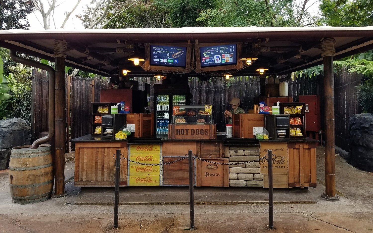 The Mess Tent in Skull Island: Reign of Kong in Islands of Adventure