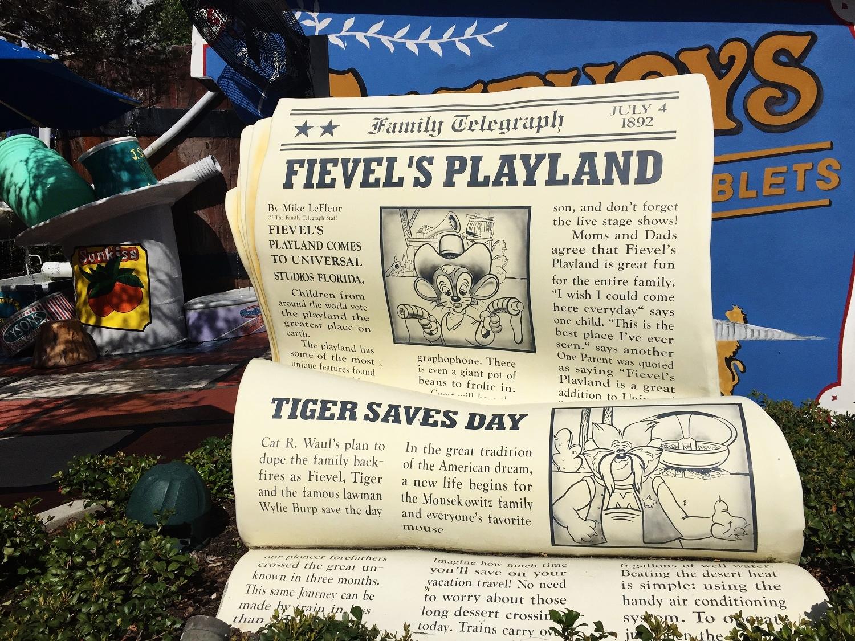 Fievel's Playland - Play Area