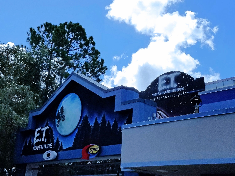 E.T. Adventure - Ride