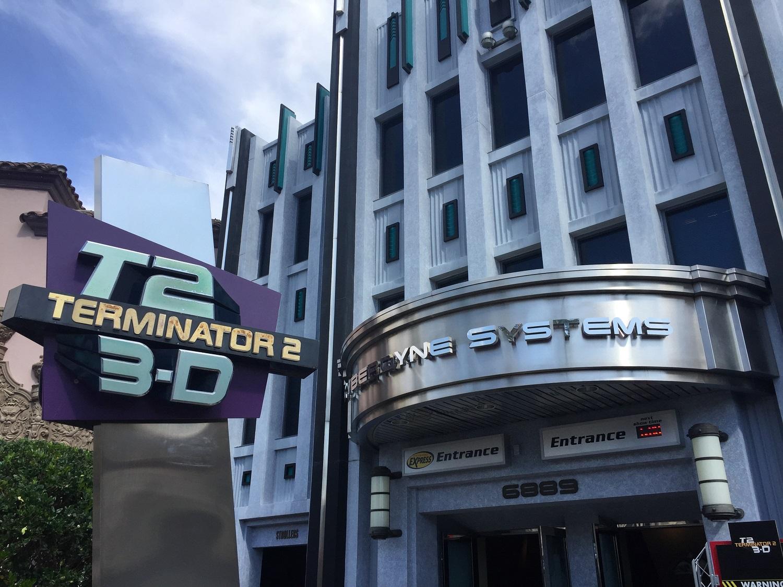 Terminator 2: 3-D entrance in Universal Studios Florida.