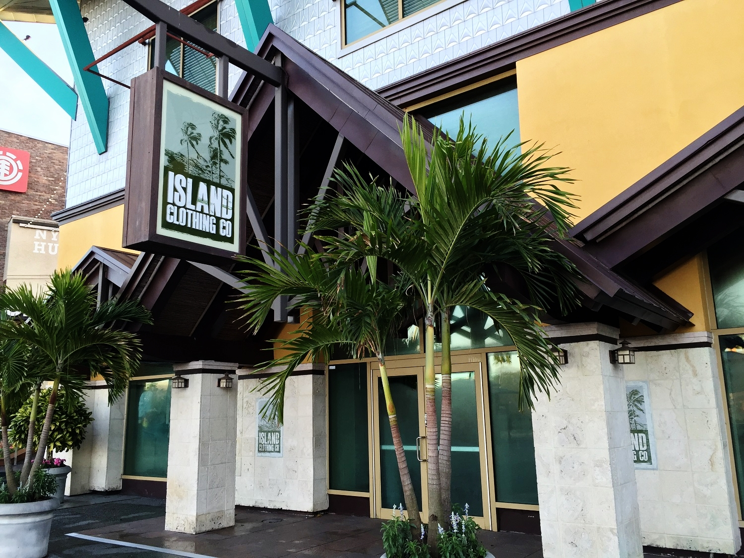 The Island Clothing Store in Universal CityWalk Orlando.