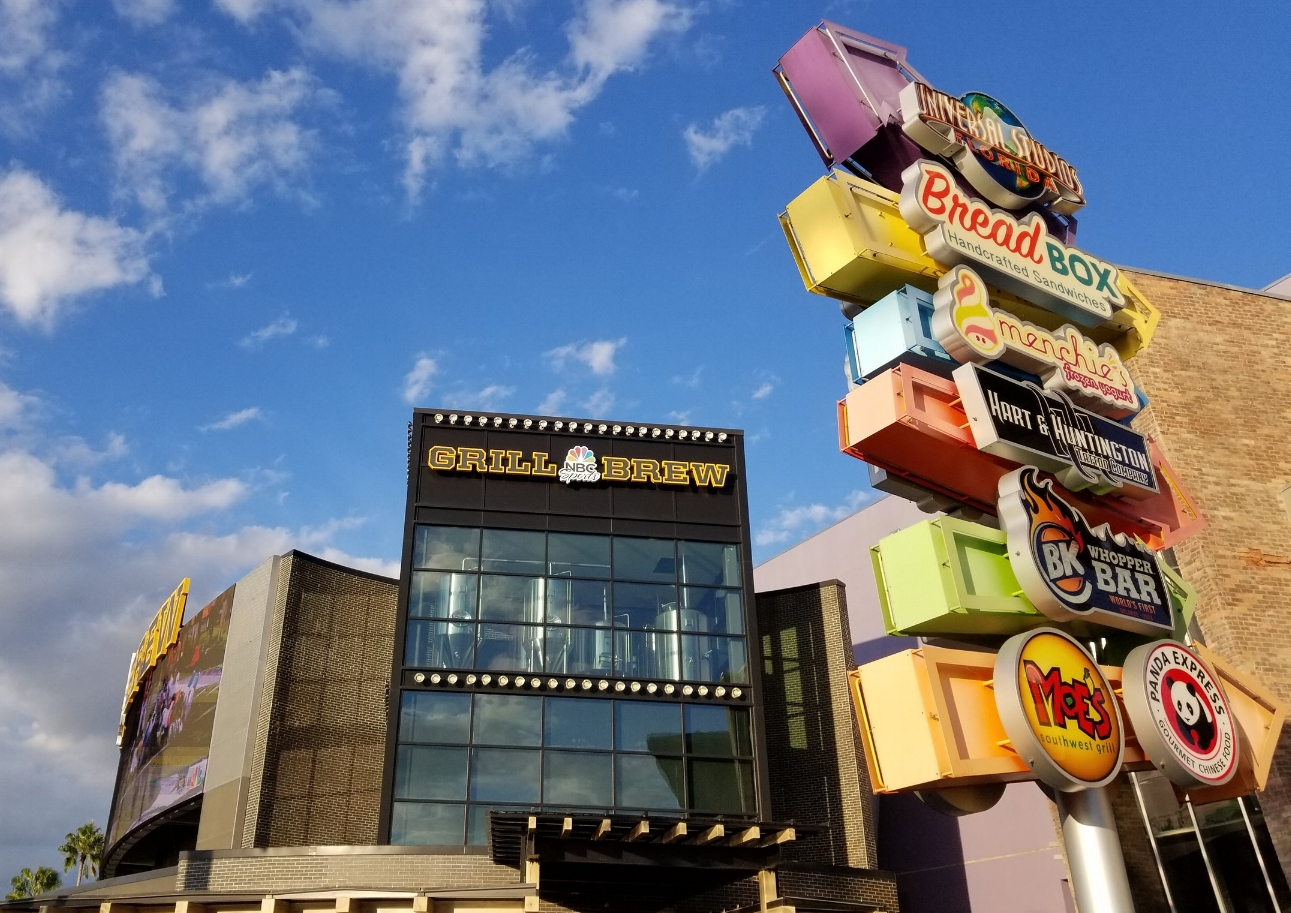 NBC Sports Grill and Brew in Universal CityWalk