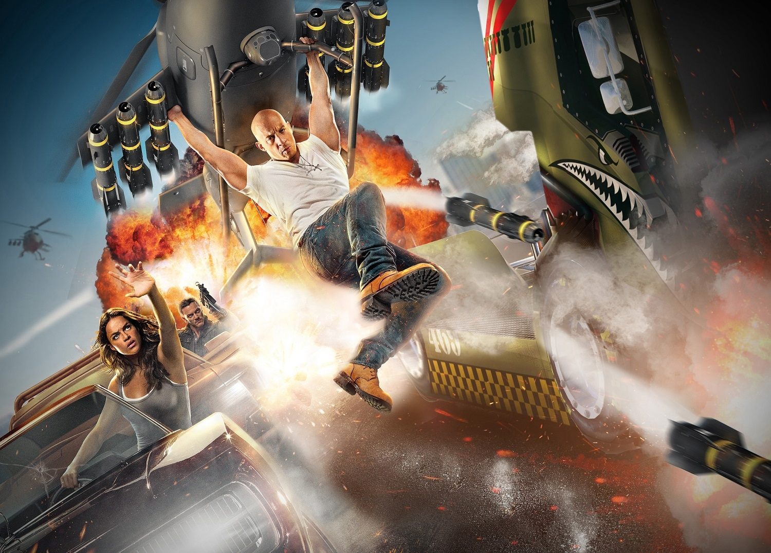Artist rendering of Fast and Furious: Supercharged. Image Credit: Universal Orlando Resort