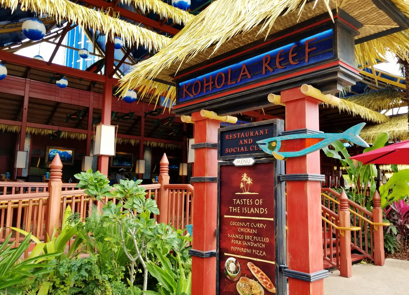 Kohola Reef Restaurant and Social Club at Universal's Volcano Bay