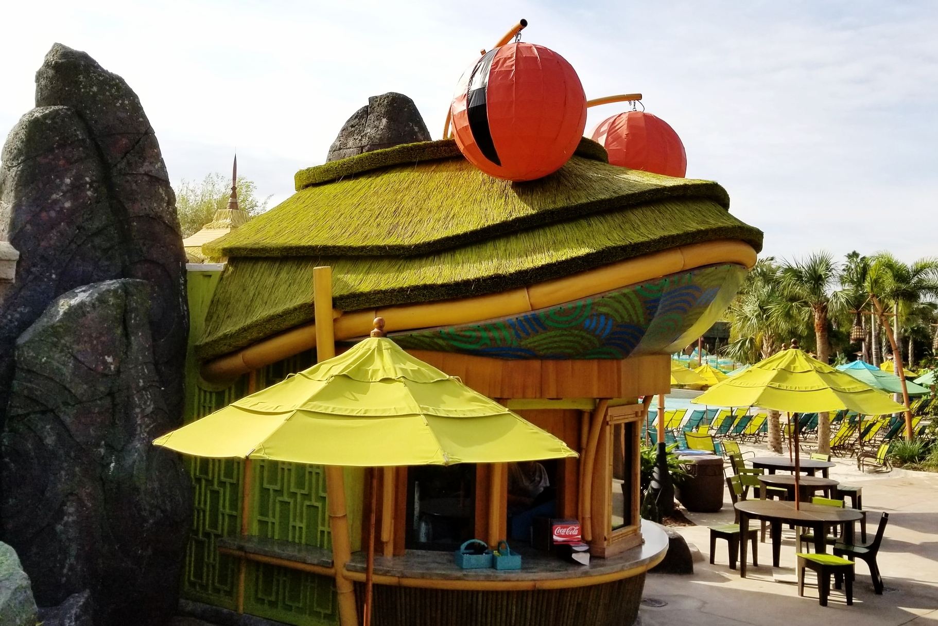 The Feasting Frog in Universal's Volcano Bay