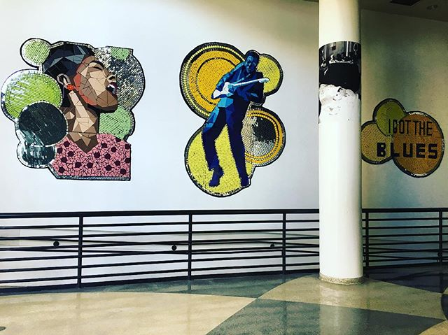 Recent installation at the Harold Washington Cultural Center!