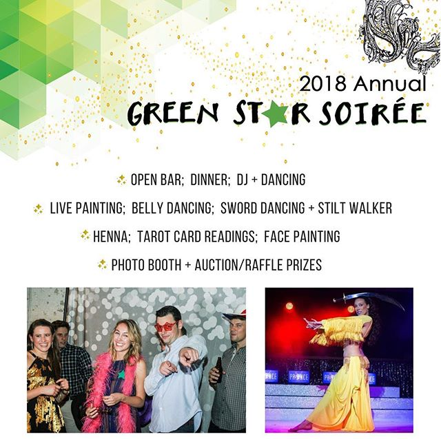 Our 6th annual Soirée is only ONE WEEK away! Come party with us, purchase your tickets before it's too late! (Link in bio)