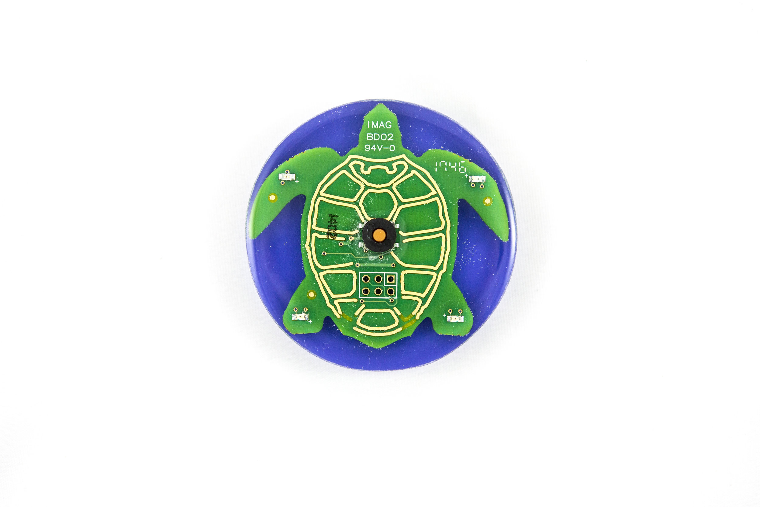 Two Minute Turtle Timer,Purple