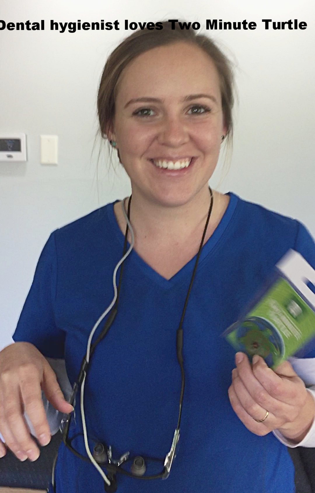 Dental hygienist loves Two Minute Turtle Timer for toothbrushing