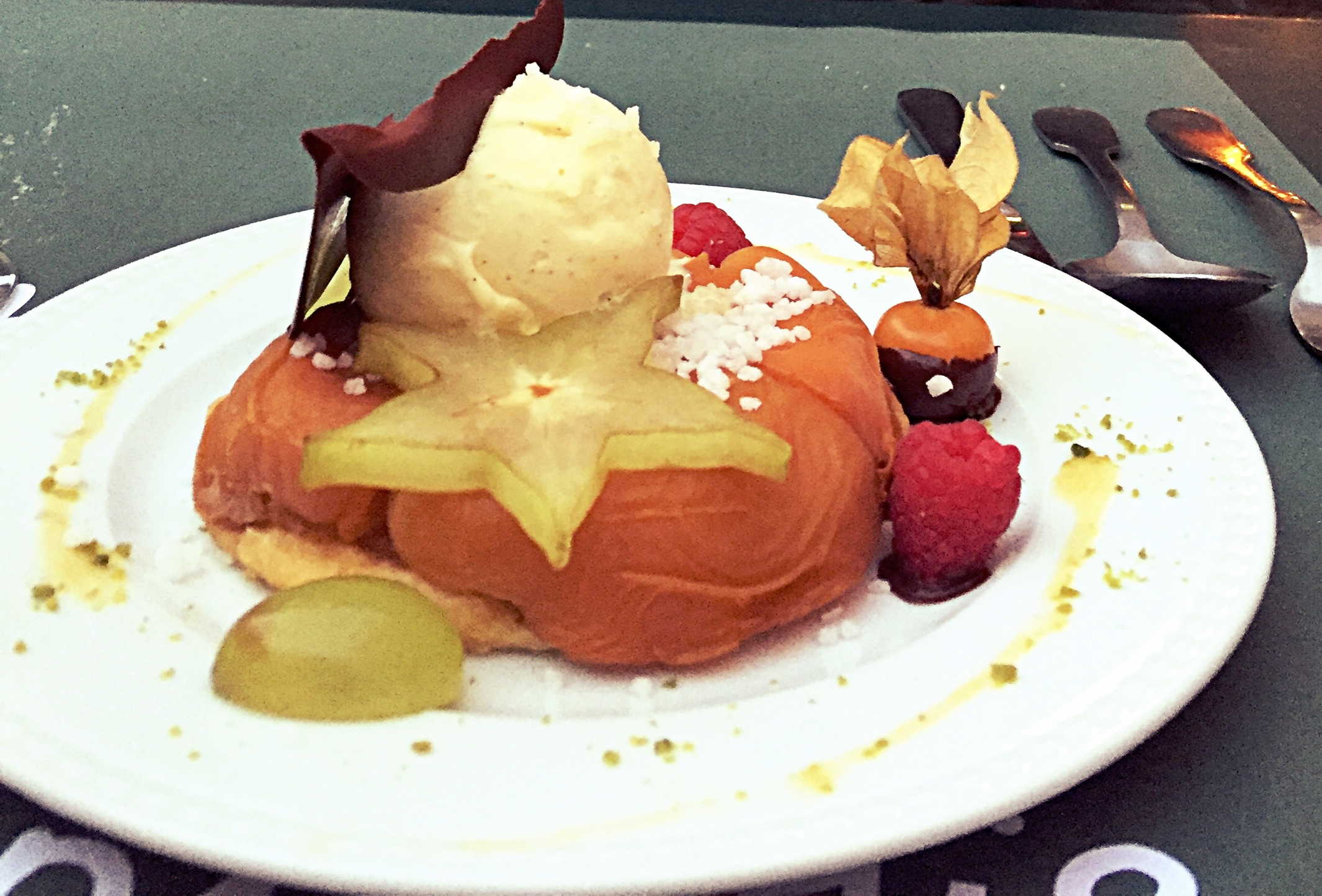 Enjoy French dessert-brush teeth afterwards!