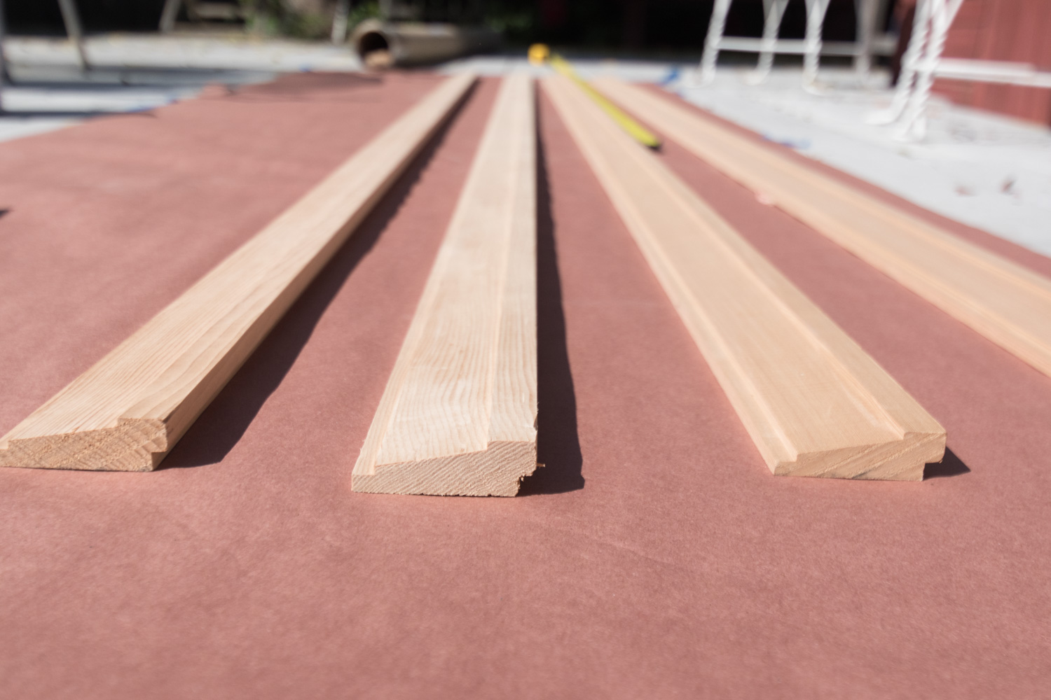 The Gold Hive How To Picture Rail Molding